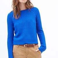 FOREVER 21 Loose-Knit Boxy Sweater