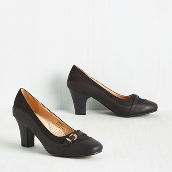 Start on a Keynote Heel | Mod Retro Vintage Heels | ModCloth.com