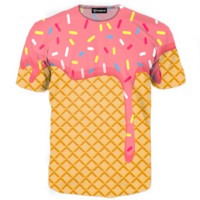 Ice Cream Dripping Tee