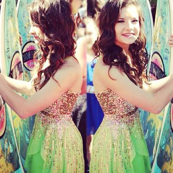 Sherri Hill 8443 Brooke Hyland Teen Choice Awards 2013