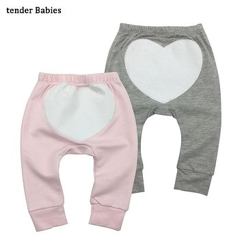 2PCS/LOT Fashion Baby Pants Spring Autumn Cotton Infant Pants Cartoon Monkey Baby Gril Pants 0-24 Newborn Baby girl boy clothes