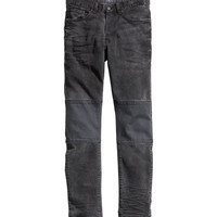 H&M - Tapered Jeans - Dark gray - Men
