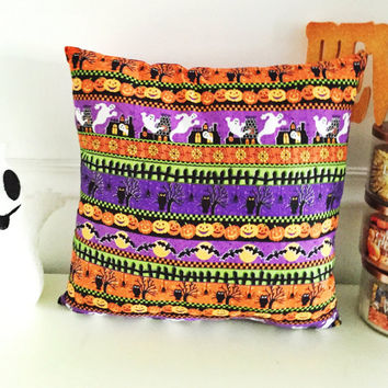 Halloween Pillows, Holiday Decor, Halloween Decor, Holiday Pillows