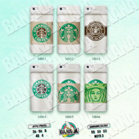 Starbucks, Coffee Cup, Frappuccino, iPhone 5 case, iPhone 5S case, iPhone 5c case, Phone case, iPhone 4 Case, iPhone 4S Case Phone Skin SB01