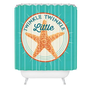 Anderson Design Group Twinkle Twinkle Little Star Shower Curtain