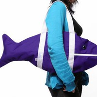 Popkiller Large Fish Bag - Purple - HAHA :)