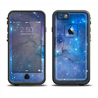 The Blue & Purple Mixed Universe Apple iPhone 6/6s LifeProof Fre Case Skin Set
