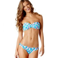 Aerie Floral Bandeau Bikini Top | American Eagle Outfitters
