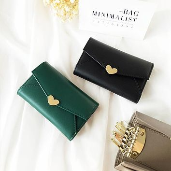 Coin Key Pouch Car Key Wallet Sweetheart Money Pocket Women Leather Vintag Holder Housekeeper Organizer Keychain Covers Case Bag