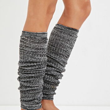 Marled Knit Leg Warmers