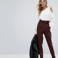 Y.A.S Paper Bag Pants at asos.com