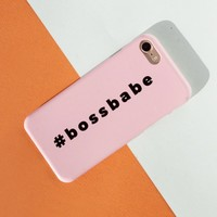 #Bossbabe Phone Case, Custom Phone Case