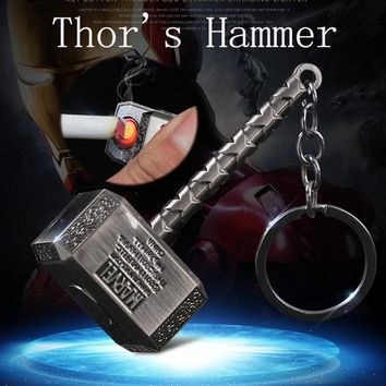 Thor's HammerReplace Spiral Lighter Hot USB Lighter Rechargeable Electronic Ligh