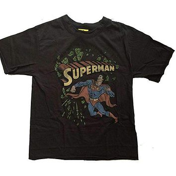 Junk Food Boys Superman Kryptonite Tee Shirt