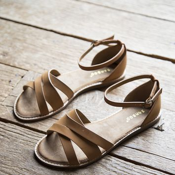 Superstar Sandal, Tan