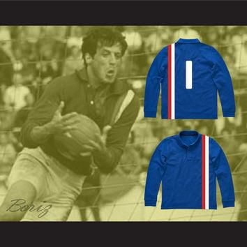 Sylvester Stallone Robert Hatch Soccer Jersey Victory Movie All Sizes NEW