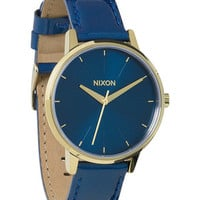 The Kensington Leather | Women's Watches | Nixon Watches and Premium Accessories