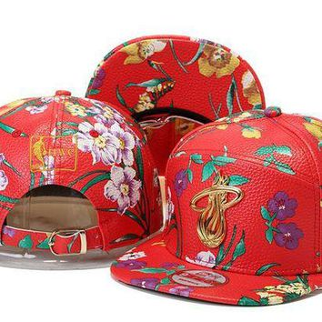 ONETOW Nba Miami Heat Snapback Cap Snapback Hat - Ready Stock