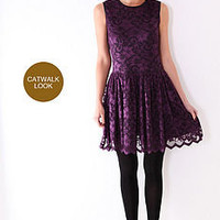 victoria lace dress by flo and sang | notonthehighstreet.com