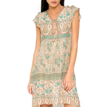 Boho blossom playdress in sage SOLD OUT