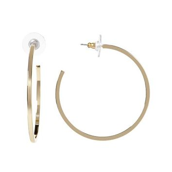 Banana Republic Everyday Medium Hoop Earring Size One Size - Gold
