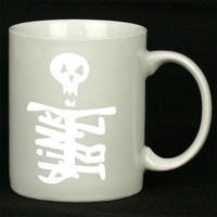 Blink 182 Skull For Ceramic Mugs Coffee *