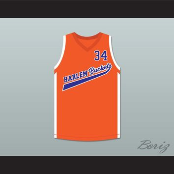 Big Fella 34 Harlem Buckets Basketball Jersey Uncle Drew