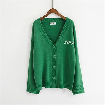 Women  Sweaters Korean Loose fit