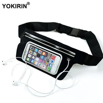 Universal Outdoor Sport Waist Bag Waterproof Fitness Running Belt Pouch Cover Case for iPhone 7 6 6S Plus SE / Samsung S7 / S6
