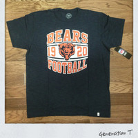 Vintage Inspired Chicago Bears Mens T-Shirt by 47 Brand