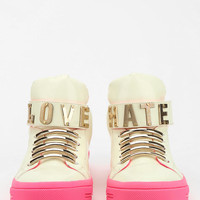 Jeffrey Campbell Krakle Glow-In-The-Dark High-Top Sneaker - Urban Outfitters