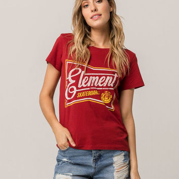 ELEMENT Label Womens Tee