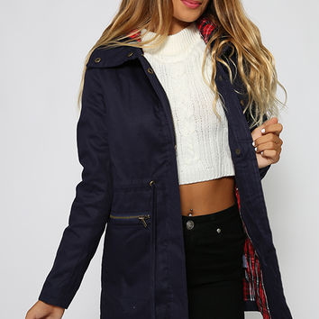 Paddington Trench - Navy