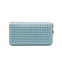 CHRISTIAN LOUBOUTIN | Spiked Panettone Calf Leather Wallet | brownsfashion.com | The Finest Edit of Luxury Fashion | Clothes, Shoes, Bags and Accessories for Men & Women