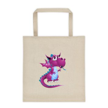 Draco Purple Tote bag