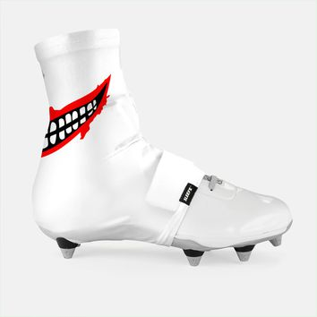 Smile White Spats / Cleat Covers