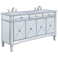 "Camille 60"" Double Bathroom Vanity Set"