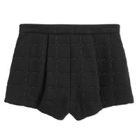 T by Alexander Wang Grid Jacquard Short - Neoprene Shorts - ShopBAZAAR