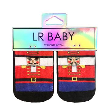 Nutcracker Baby Socks