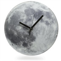 Light Up Moon Wall Clock Geek clock