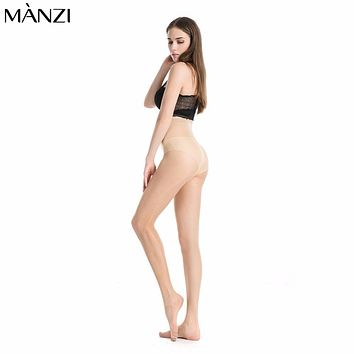 2017 new Summer Nylon Tights Women Solid Color Transparent Tights Fashion skin Resistant Pantyhose Hosiery Female