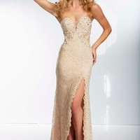 Stunning Lace Mori Lee 2014 Prom Dress 95126