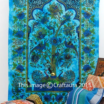 Tree Of Life Tapestry, Indian Tapestry, Bohemian Tapestry, Hippie Tapestry Wall Hanging, Picnic Blanket, Indian Bedspread, Wall Hanging