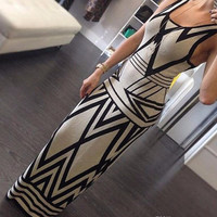 Sexy Women Summer Boho Long Maxi Evening  Sundress