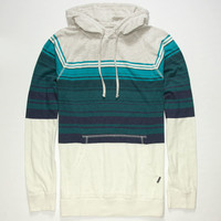 Rip Curl Top Notch Mens Lightweight Hoodie White/Blue  In Sizes