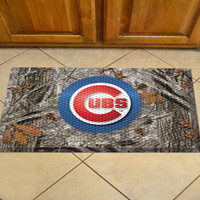 Chicago Cubs Scraper Mat