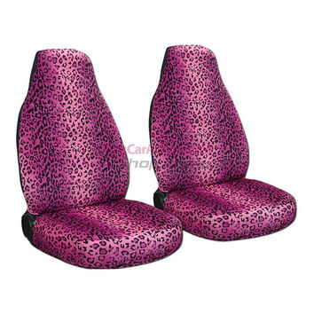 Leopard Car Seat Covers....Any Colour..All Cars