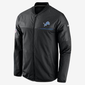 ESBON NFL Detroit Lions Black Elite Hybrid Performance Jacket
