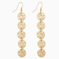 Long Disc Dangles | Fashion Jewelry - Earrings | charming charlie