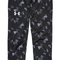 Girl's Under Armour 'Alpha' Print HeatGear Capris,